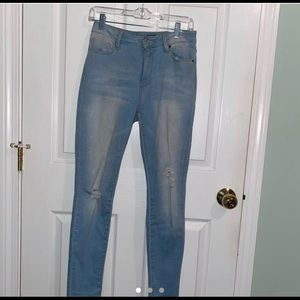 YMI high waisted jeans size 7